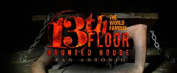 #2: 13th Floor Haunted House (San Antonio, TX)